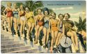 The Peaches of Miami Beach, Florida. A vintage postcard from the KBL Family Collection.